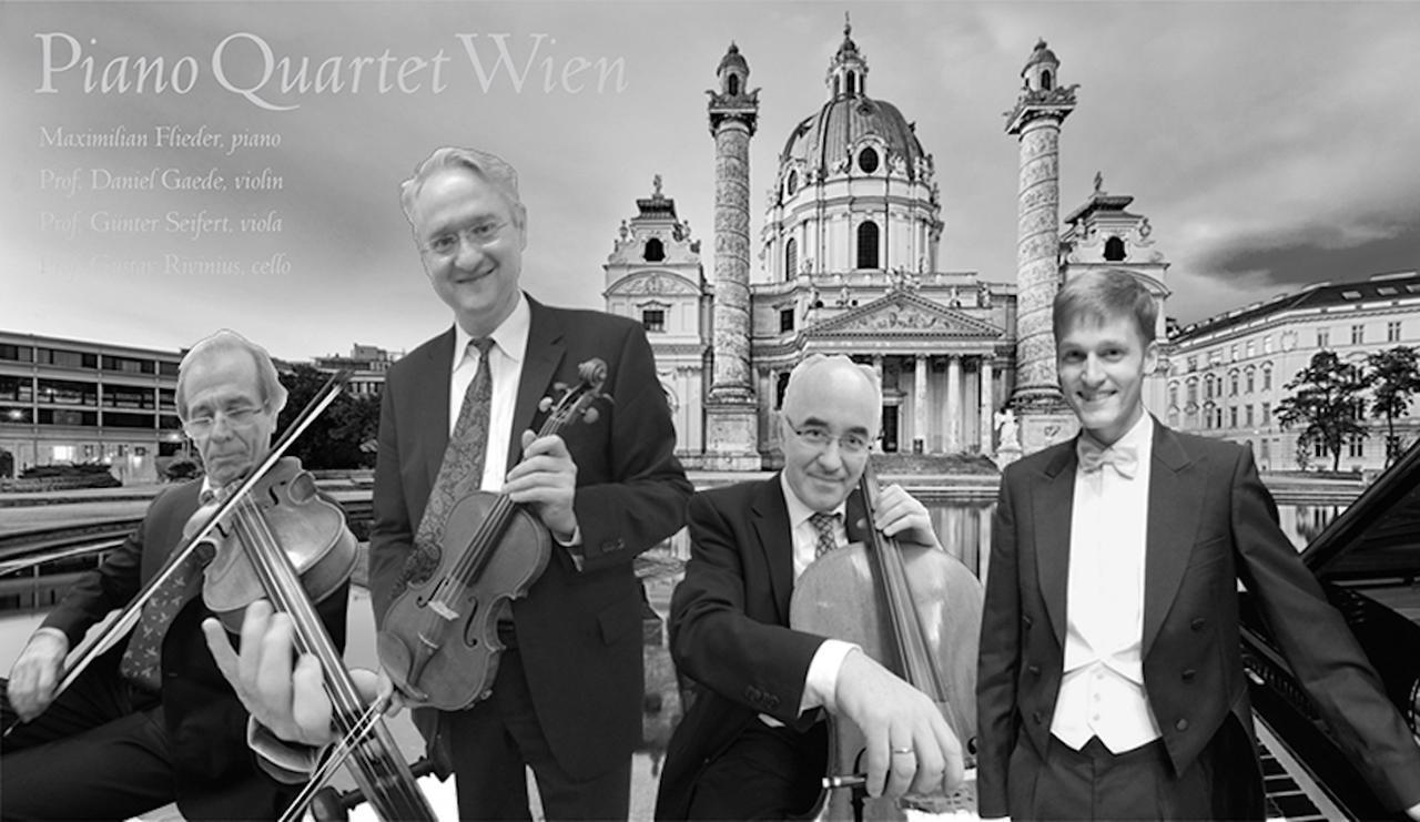 画像: ウィーン・フィル前コンサートマスター、ダニエル・ゲーデが率いるウィーン・ピアノ四重奏団