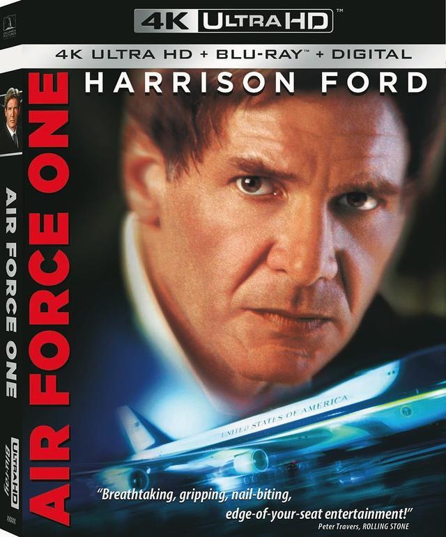 画像: ハリソン・フォード主演サスペンス・アクション『エアフォース・ワン』【海外盤Blu-ray発売情報】