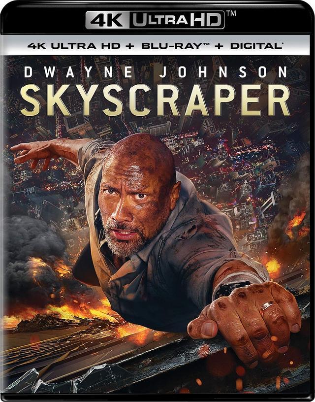 画像1: ドウェイン・ジョンソン主演超弩級アクション『スカイスクレイパー』【海外盤Blu-ray発売情報】