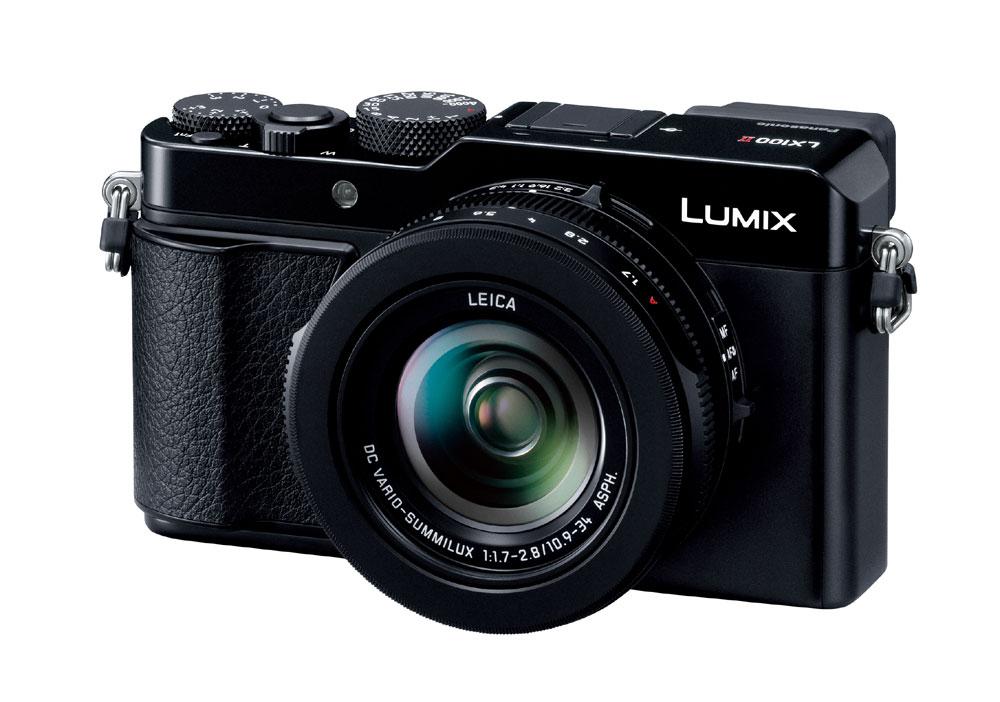 画像: パナソニックの一体型デジタルスチルカメラ「DC-LX100M2」。10月18日発売だ