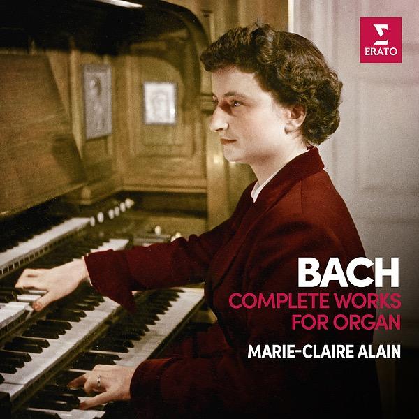 画像: Bach: Complete Organ Works (Analogue Version Recorded 1959-67)/Marie-Claire Alain