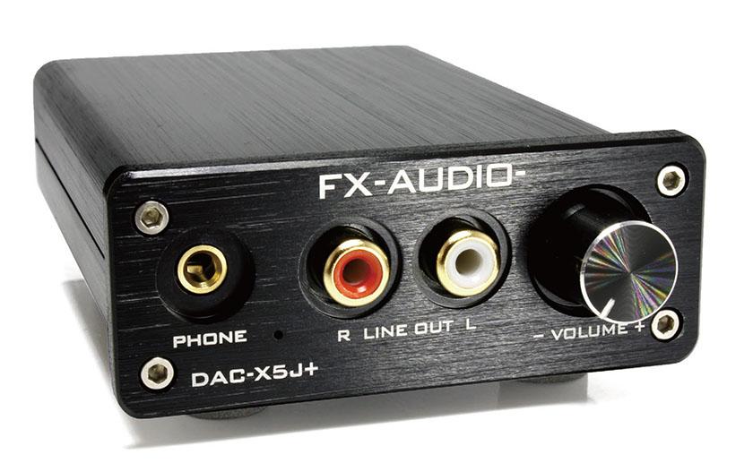 画像: FX-AUDIOのハイレゾ対応D/Aコンバーター&ヘッドホンアンプ スタンダードモデル「DAC-X5J+」は、¥5,980で発売中
