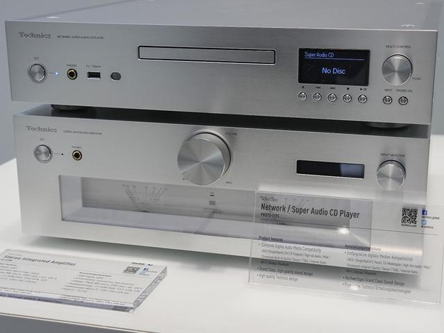 画像: テクニクスブランドで、ついにパナソニックがSACDプレーヤー(画像上段)のプロトタイプを発表。DVDオーディオとの戦争は過去の話となった