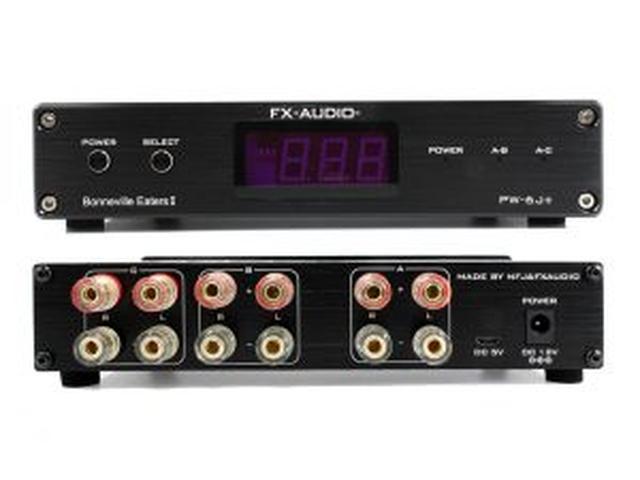 画像: リモコン対応のアンプ・スピーカー切替器の上位モデル FX-AUDIO-『PW-6J+』を新発売 | North Flat Japan(株式会社ノースフラットジャパン公式)