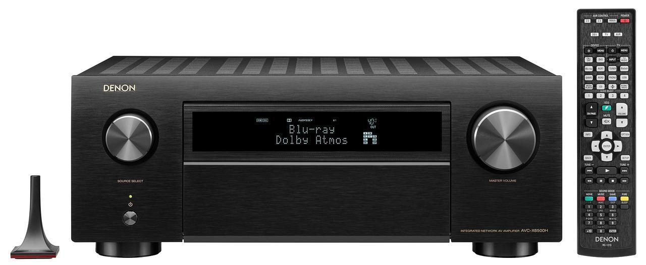 画像1: オーディオ・ビジュアル&ホームシアター専門店のアバックは、全国14店舗にてデノンの新製品、AVアンプ「AVC-X6500H」の試聴イベントを実施する。