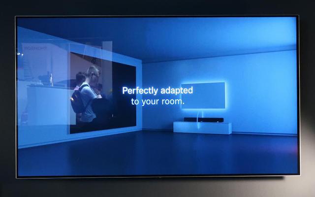 画像: ルームキャリブレーション機能の説明