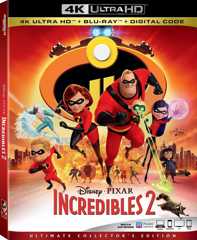 画像: ディズニー/ピクサー『Mr.インクレディブル』のメガヒット続編『インクレディブル・ファミリー』【海外盤Blu-ray発売情報】