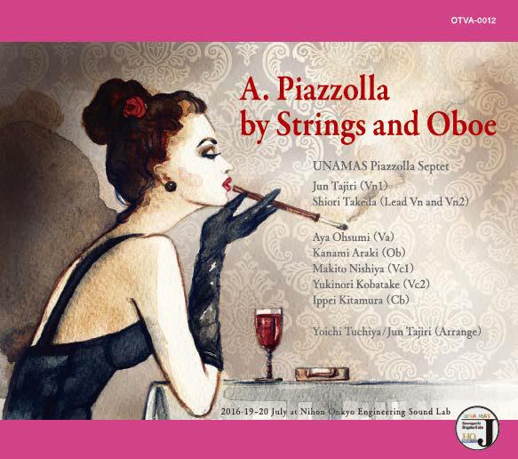 画像: 『A.Piazzolla by Strings and Oboe』 amzn.to