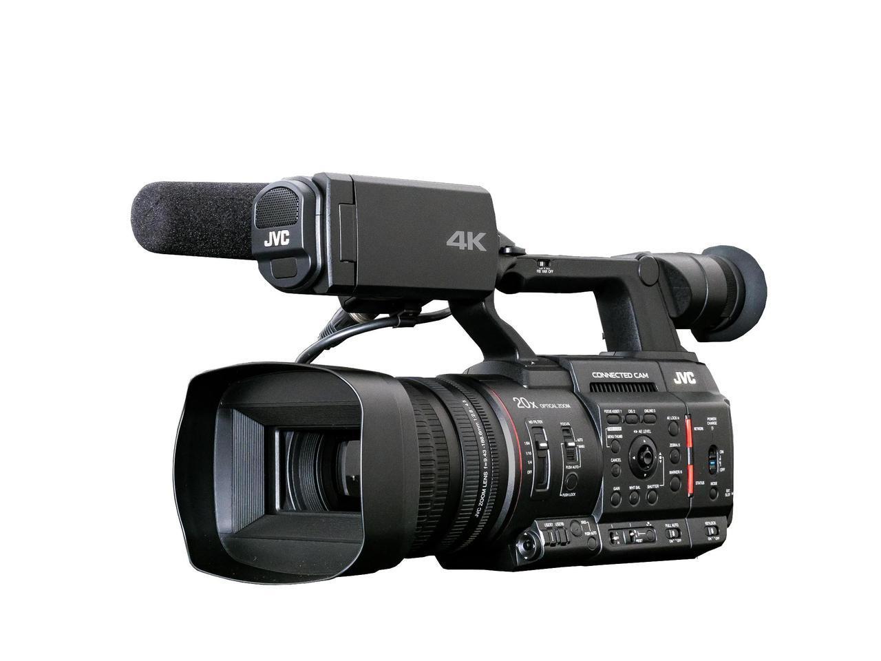 画像: JVCの4Kカメラレコーダー「GY-HC500」