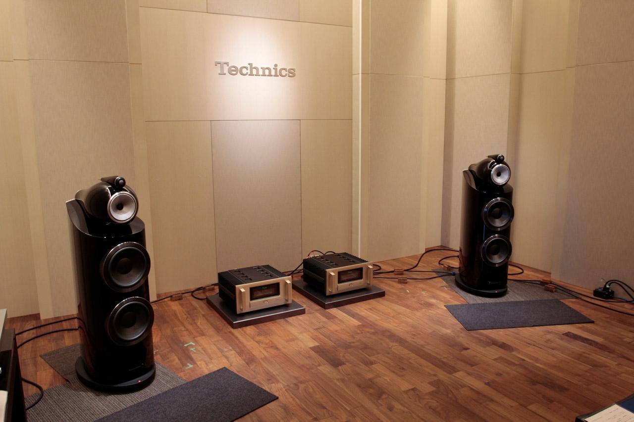 画像: パナソニックセンター東京内にある「テクニクス リスニングルーム」。今回のイベントではステレオサウンドのリファレンス・システムが持ち込まれた