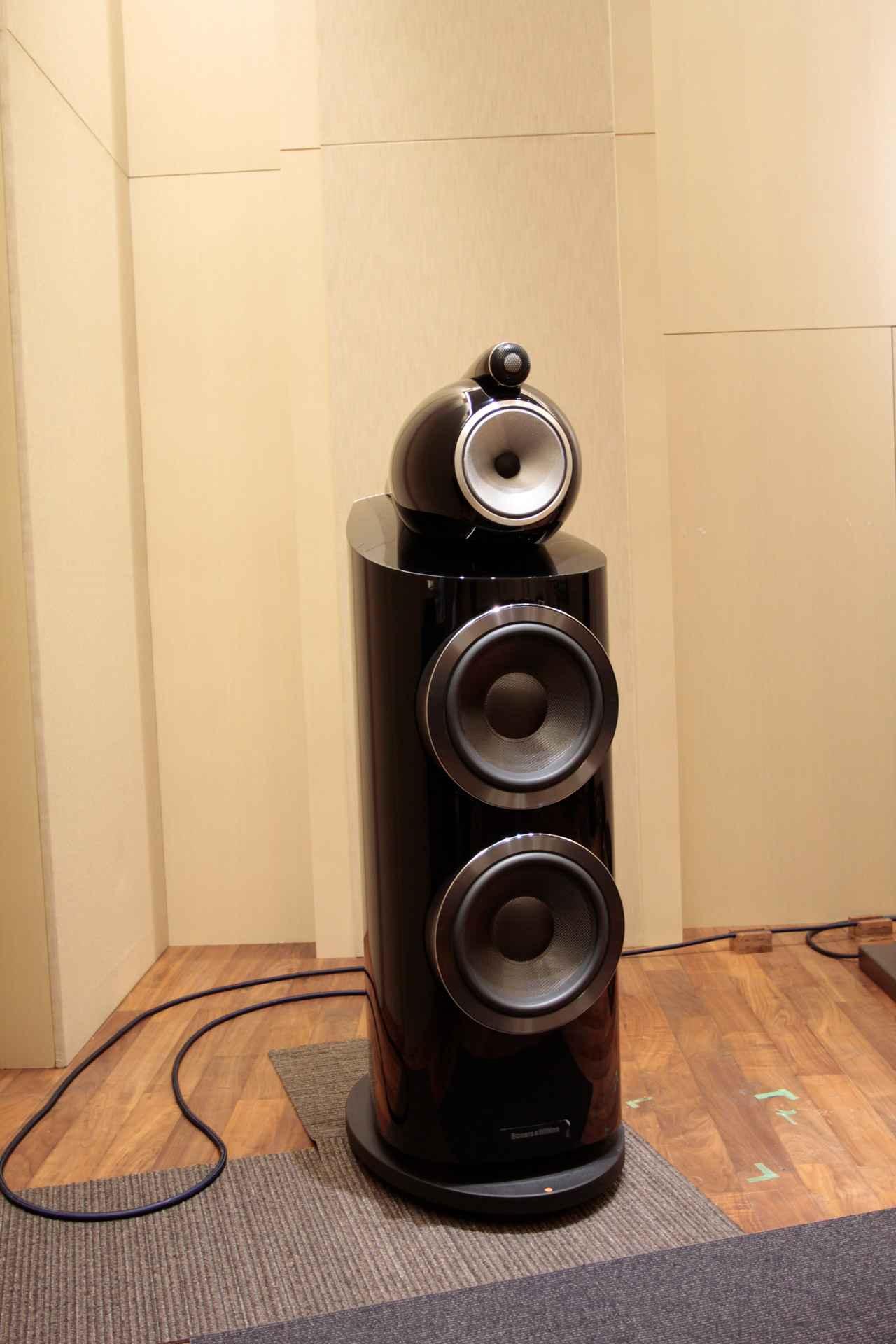 画像: スピーカー:B&W「800D3」
