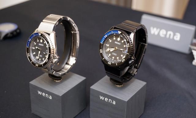 画像: ▲「SEIKO Mechanical WNW-SB13A」。左がシルバー、右がプレミアムブラック。限定台数は、それぞれ700台と300台となる