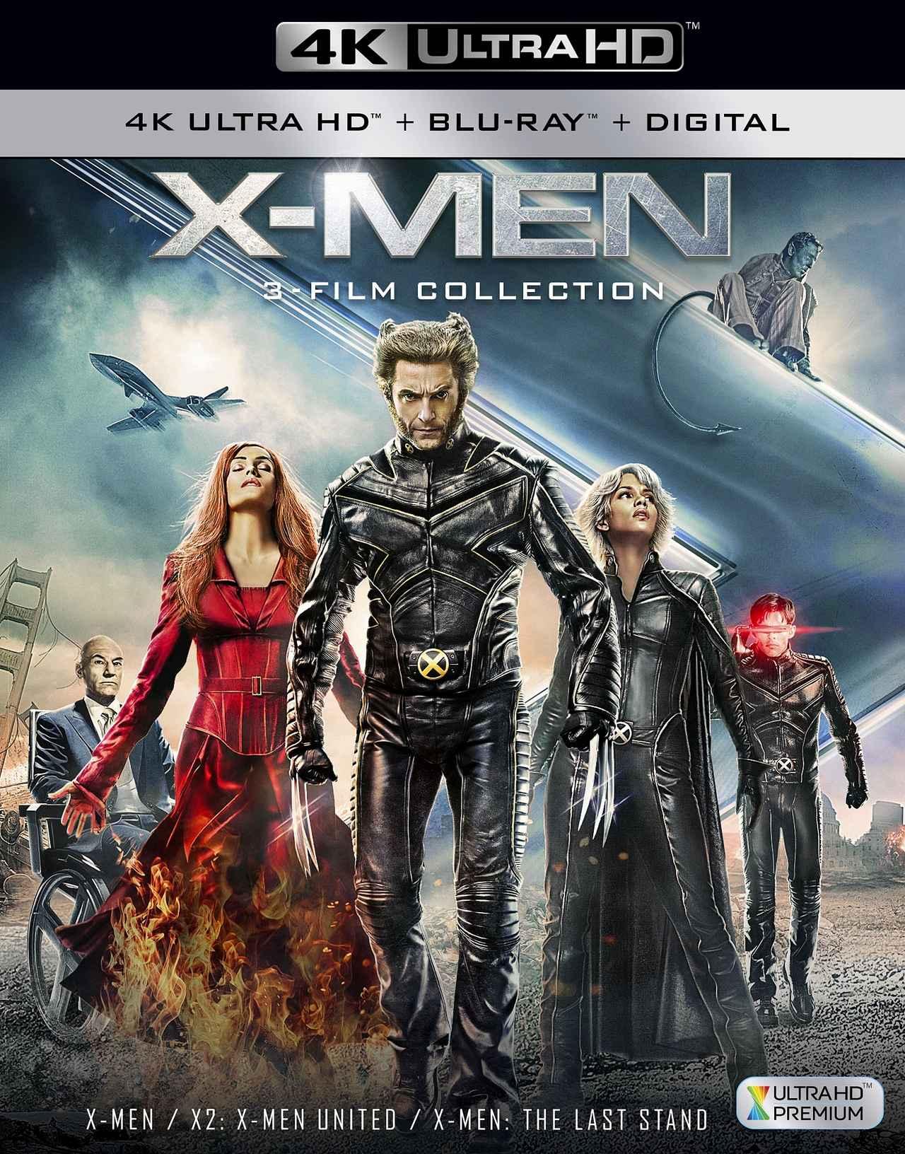 画像: マーベル・コミック人気シリーズ、オリジナル3部作が4K化『X-MEN: 3フィルム・コレクション』【海外盤Blu-ray発売情報】