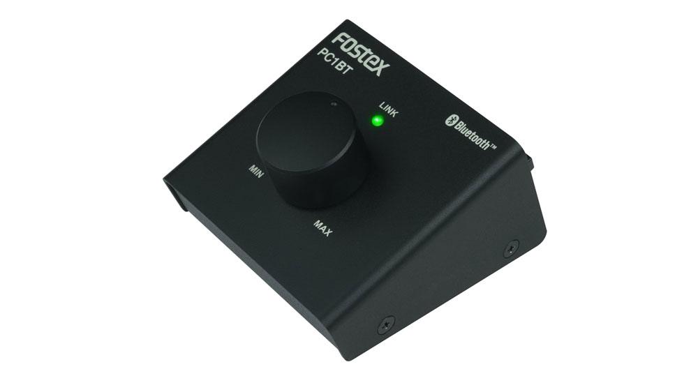 画像: ▲フォステクスのワイヤレスボリュームコントローラー「PC1BT」