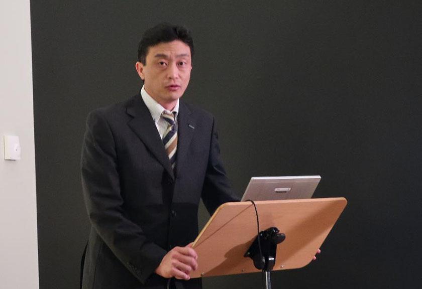 画像: パナソニックアプライアンス社のテクニクス担当音響エンジニア、池田純一氏