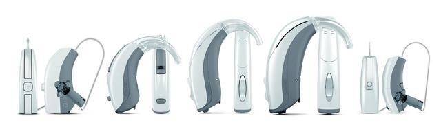 画像: EVOKEシリーズは、耳かけ型5タイプ(F2、FM、FA、FP、PA) ※F2には充電タイプ「Z-F2」あり