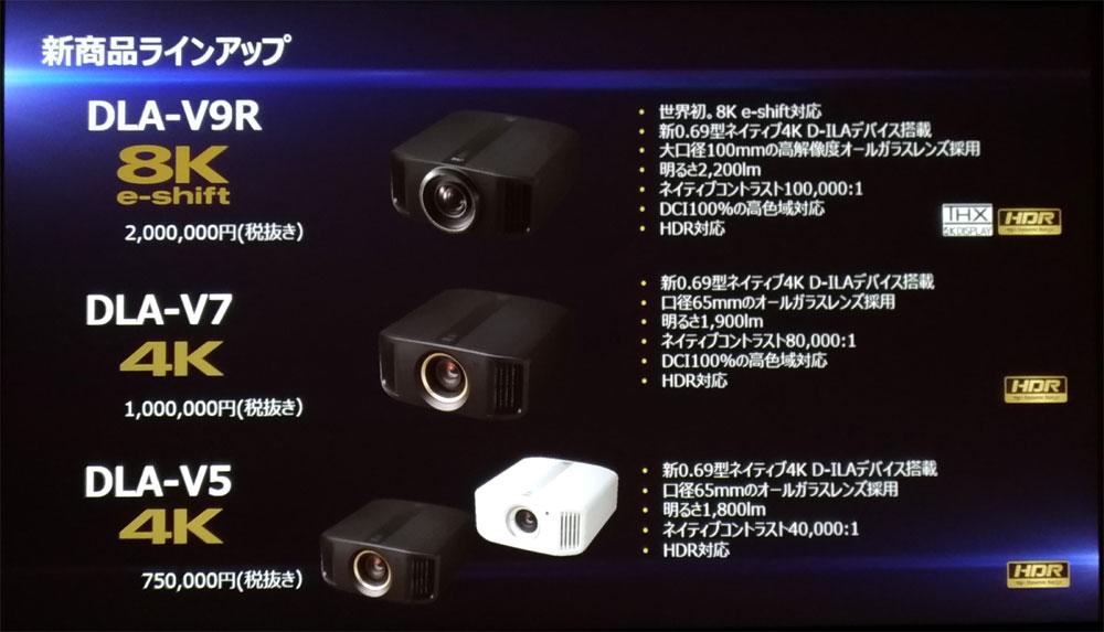 画像1: 100万円で買えるネイティブ4Kプロジェクターも2モデル