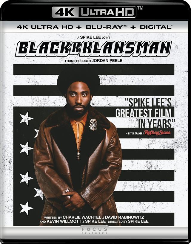 画像1: 驚きの実話を映画化したスパイク・リー監督コメディ『ブラッククランズマン』【海外盤Blu-ray発売情報】