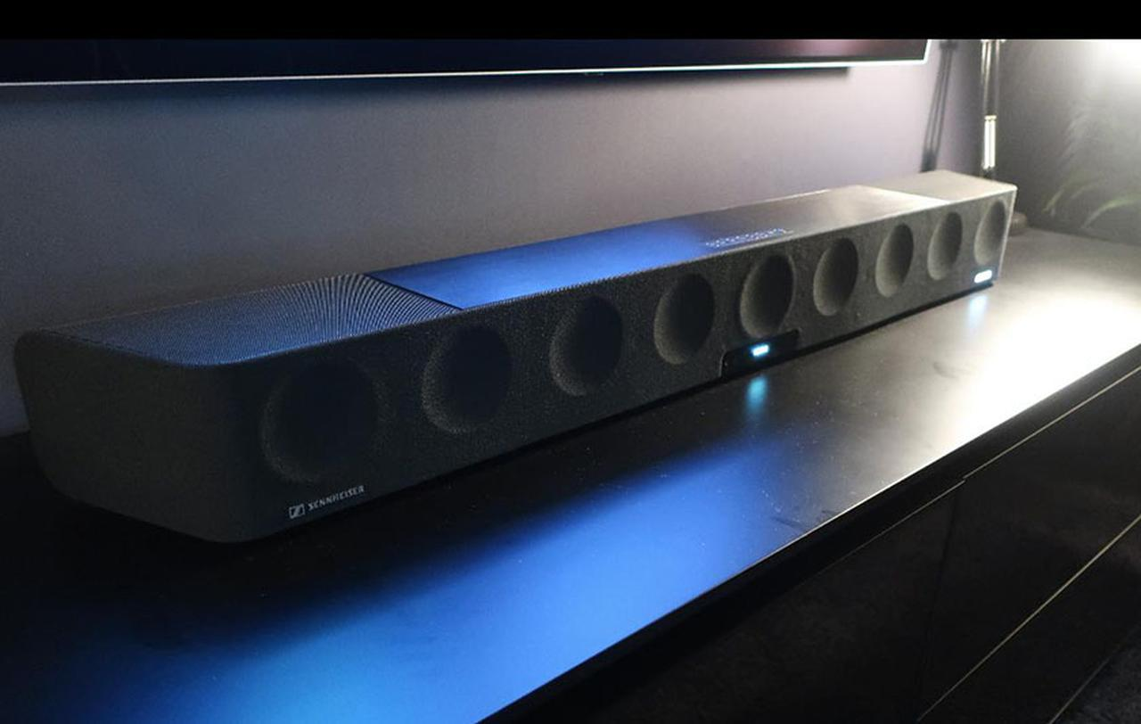 画像: 【麻倉怜士のIFAリポート 2018】その08 ゼンハイザー、初のイマーシブサラウンドバー「AMBEO Soundbar」をIFAで発表 - Stereo Sound ONLINE