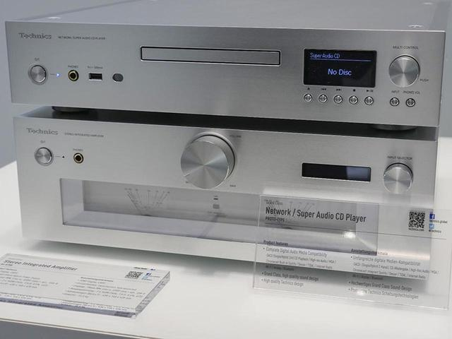 画像: 【麻倉怜士のIFAリポート 2018】その02テクニクスから登場したSACDプレーヤーは、なんとMQA-CDも再生可能な多機能機 - Stereo Sound ONLINE