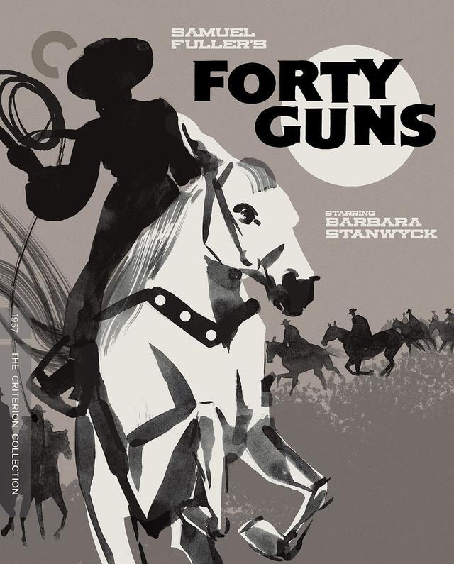 画像: サミュエル・フラー監督作『四十挺の拳銃』【クライテリオンNEWリリース】