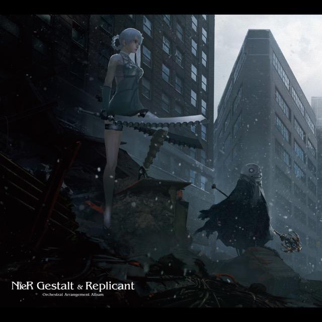 画像: NieR Gestalt & Replicant Orchestral Arrangement Album / 岡部 啓一