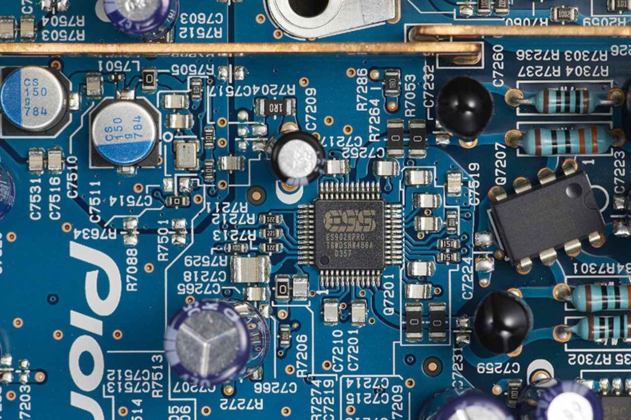Images : 新たにESSのDACチップES9026を2基搭載