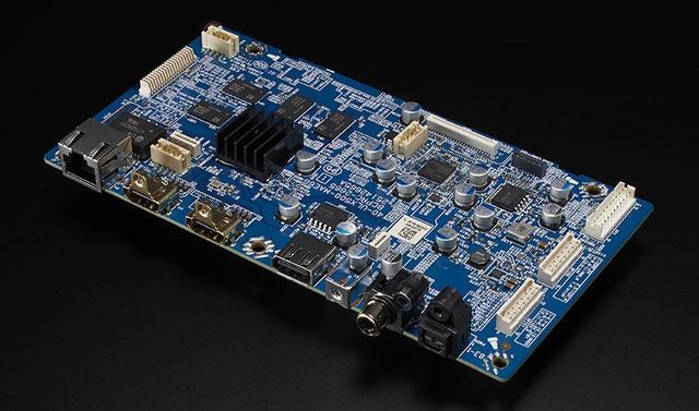 画像: ▲HDMI端子を備えたデジタル基板