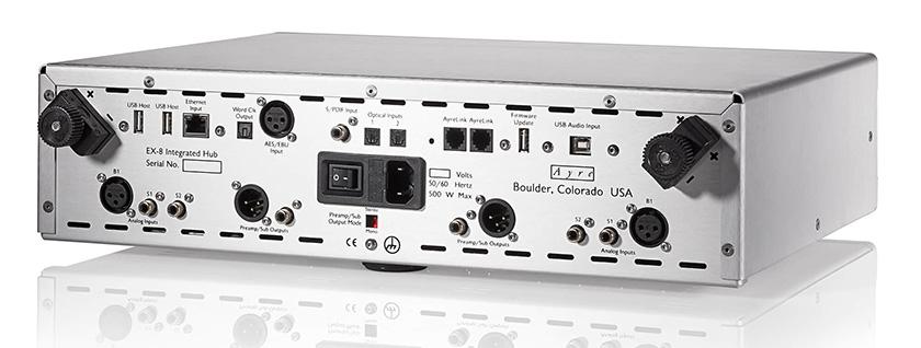 画像2: 多様化するデジタル/アナログの音楽ソースを、シンプル&高品質に再現する一台。Ayre(エアー)から、「EX-8 Integrated Hub」が9月に発売される
