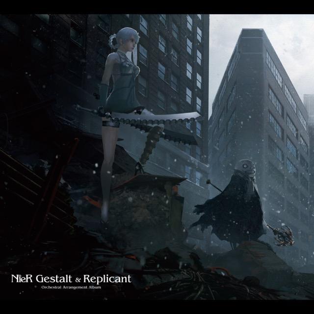 画像: NieR Gestalt & Replicant Orchestral Arrangement Album / 岡部啓一