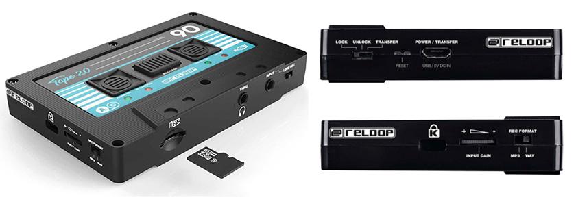 画像: ▲3.5mmのアナログ入力やmicroSDカードスロット、マイクロUSB端子等を側面に備える