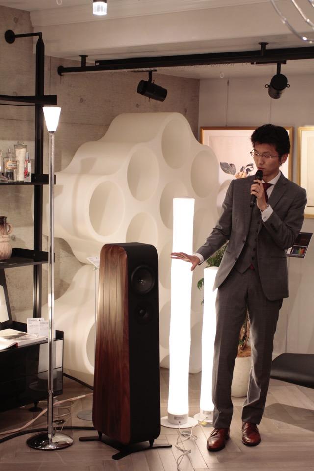 画像: チャリオ「Cielo」は3ウェイ4スピーカー構成の背面バスレフ型。パトス「Logos MkⅡ」との音の相性もなかなか。