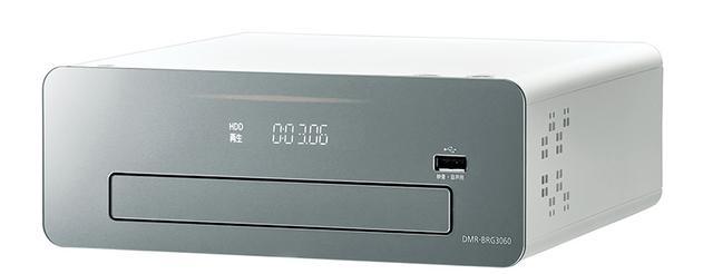 画像: ▲3TBHDDを内蔵した「DMR-BRG3060」。本体サイズは4モデルともW215×H80×D215mmだ