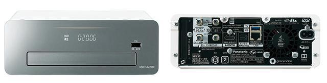 画像: ▲DMR-UBZ2060。出力端子等は上位モデルのDMR-BRG3060も同じとなる