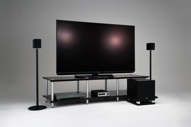 画像: 4Kテレビが活きるステレオシステム【エラック編】響きの生々しさと臨場感の高さを満喫!超小型2.1chシステムの上質な音に驚く
