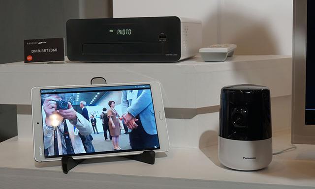 画像: ▲HDペットカメラとの連携で、留守中のペットの様子をディーガのHDDに簡単に保存できる