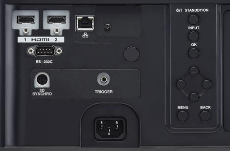 画像: 最高18Gbpsに対応するHDMIのハイスピード対応端子を2系統搭載する。これは、4K/60pのHDR映像への万全サポートを意味し、UHDブルーレイのみならず、本(2018)年12月に開始される「新4K8K衛星放送」での4K番組の表示も可能となる