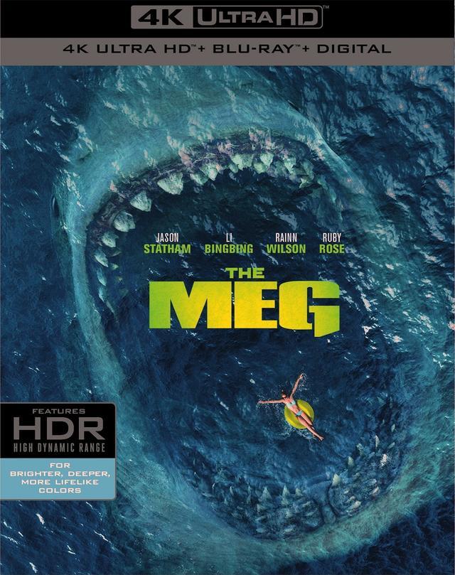 画像1: ジェイソン・ステイサム主演巨大鮫パニック・アクション『MEG ザ・モンスター』【海外盤Blu-ray発売情報】