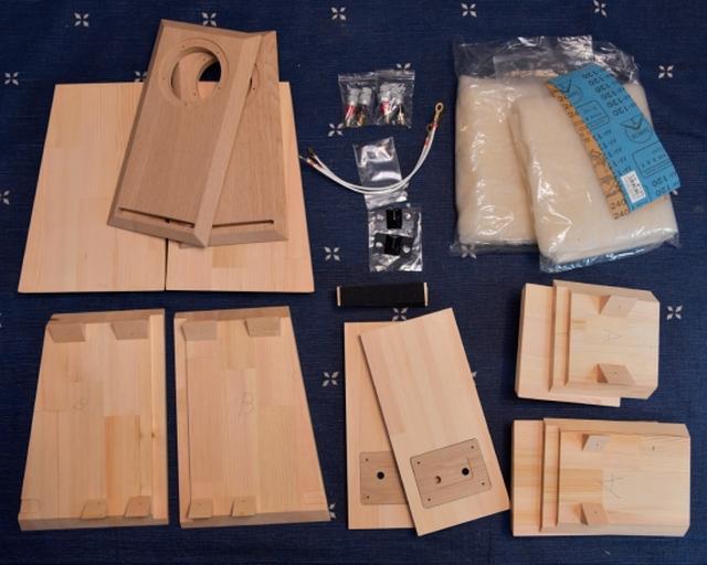 画像: 気になるUBUKATA MODEL(付録ユニット用エンクロージャーキット)の構造がチェックできそう。音も聴けるので、興味のある方はぜひお立ち寄りください ontomo-shop.com