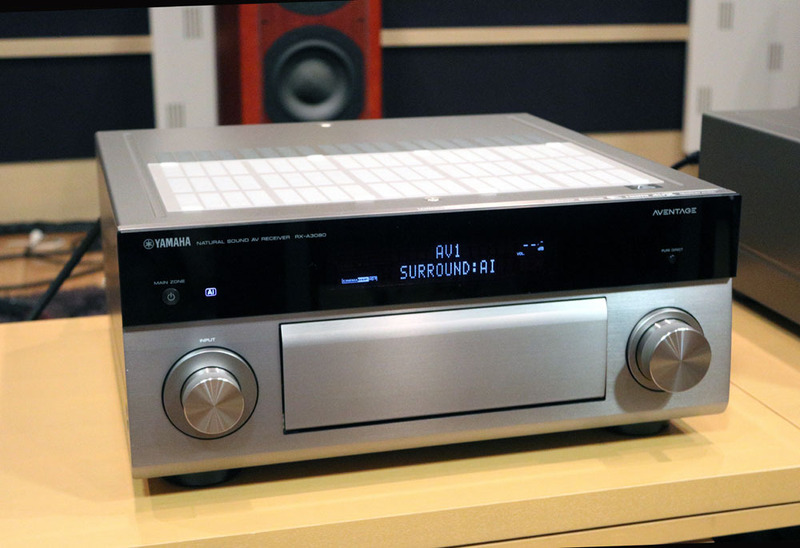 画像: 【速攻レビュー付】ヤマハ、新AVアンプ「RX-A3080」を8月下旬に発売。シーンごとに最適音場を構築するSURROUND:AI機能   Stereo Sound ONLINE