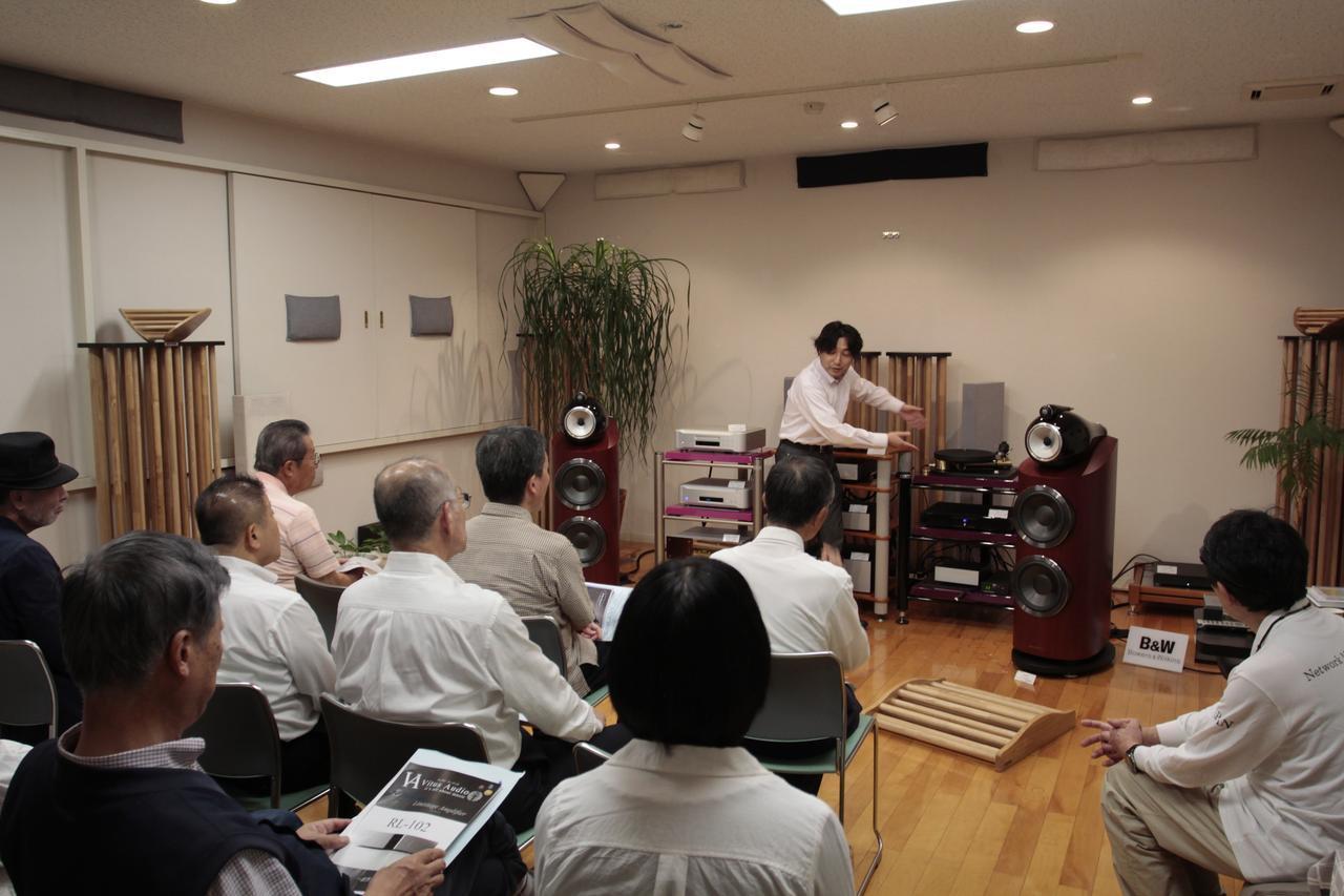 画像: 富山市クリアーサウンドイマイにて シーエスフィールド、スフォルツァート、弊社3社合同による 「高音質音楽ソフト体験会Vol.2」開催