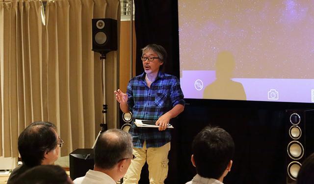 画像: 東京会場のプレゼンテーターは掘切日出晴さんが担当。軽妙なしゃべりで来場者を楽しませてくれた