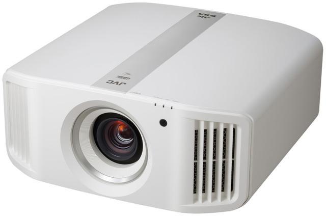 画像: ネイティブ4Kパネル搭載4Kプロジェクター「DLA-V5」。本体色はブラックとホワイトの2色