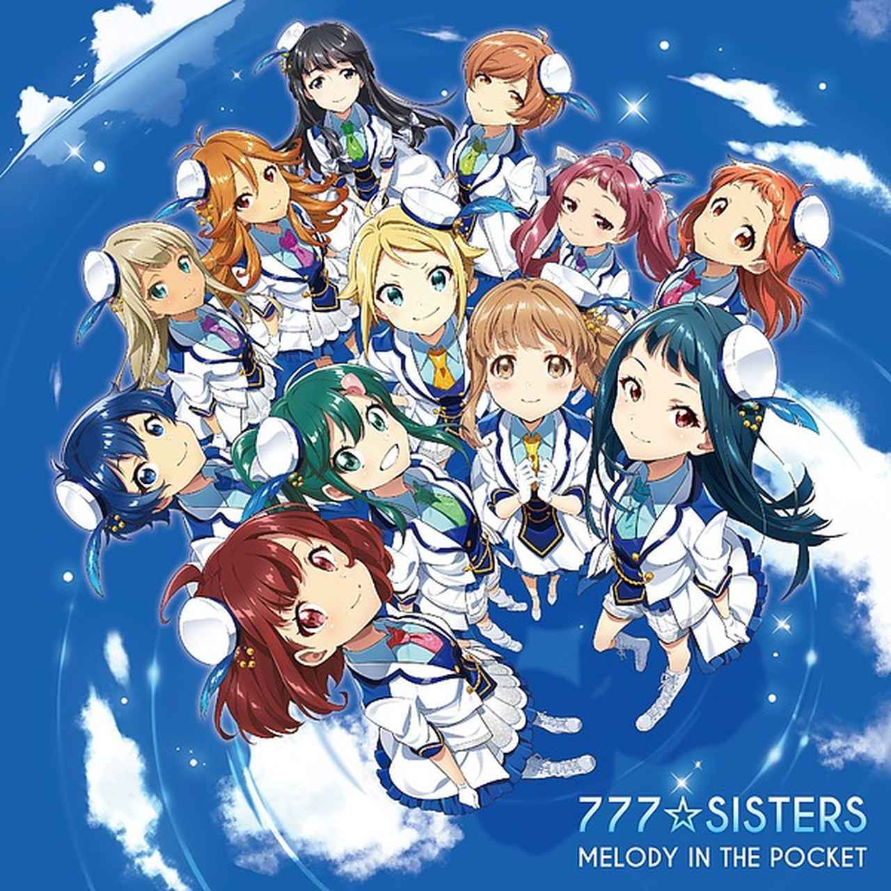 画像: MELODY IN THE POCKET/777☆SISTERS