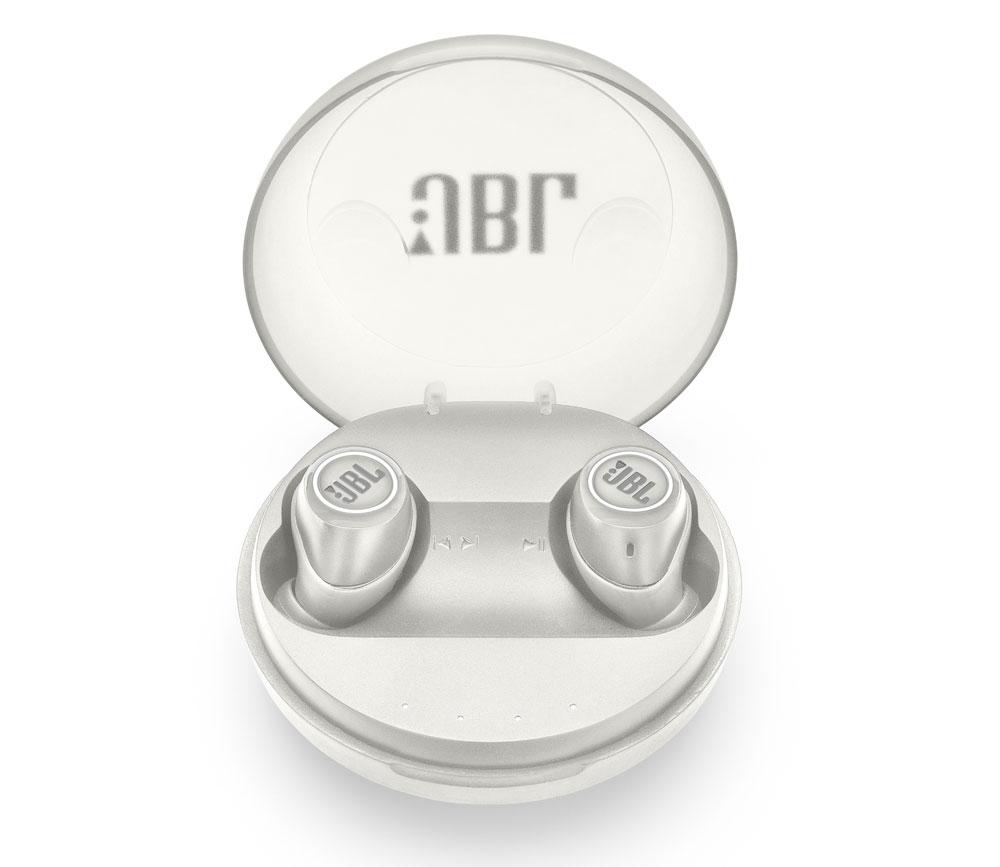 画像: 「JBL FREE X」のホワイトモデル