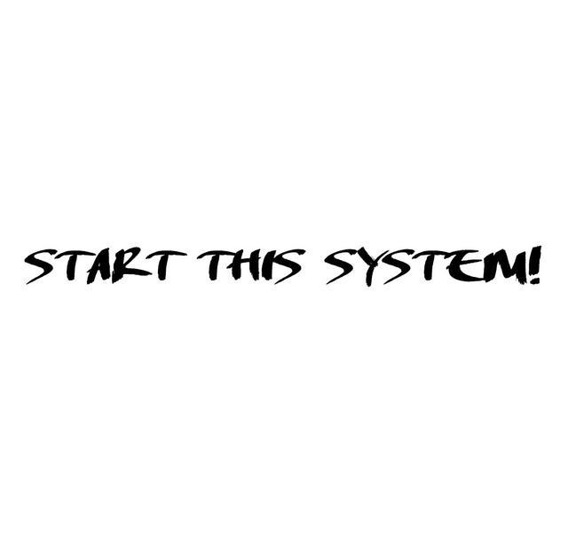 画像: START THIS SYSTEM! / HAMIDASYSTEM