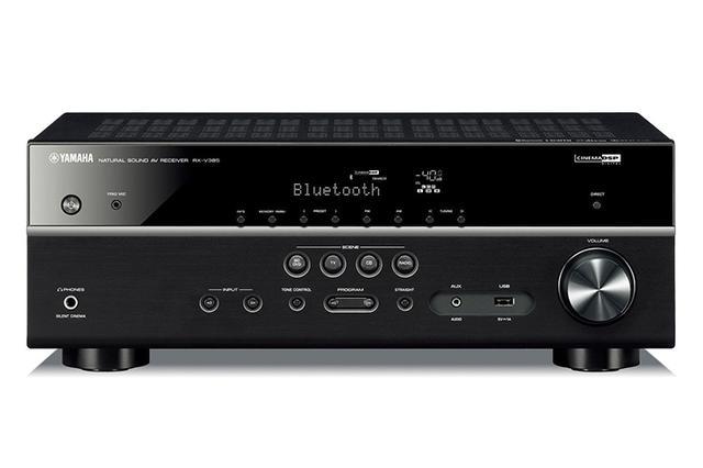 画像: ヤマハ、5.1chAVアンプ「RX-V385」を4.8万円で発売。上位機で好評のバーブラウン製DACチップ採用で高音質化 | Stereo Sound ONLINE