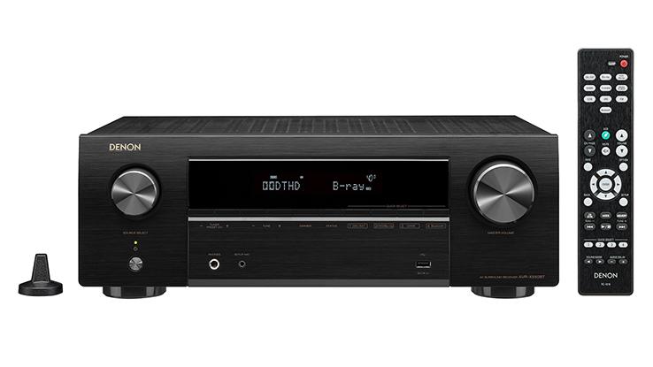 画像1: デノン、最エントリーAVアンプ「AVR-X550BT」を3.5万円で発売。「AVR-X1500H」「AVR-X2500H」も登場 | Stereo Sound ONLINE
