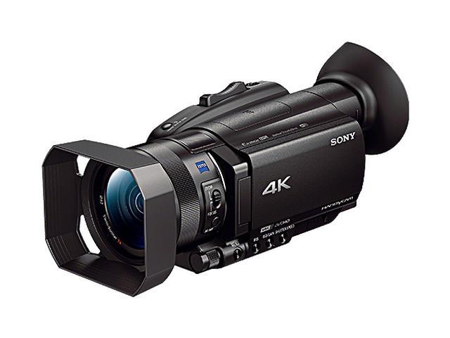 画像: FDR-AX700 | デジタルビデオカメラ Handycam ハンディカム | ソニー