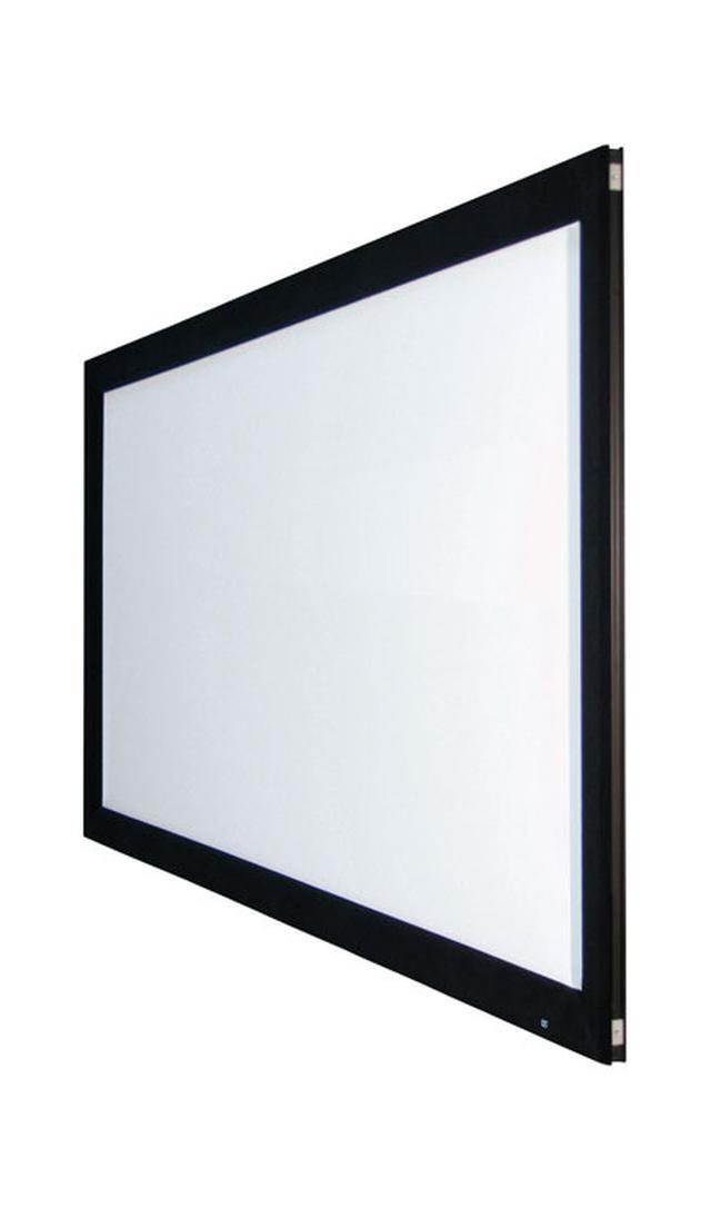 画像: OS、HDR対応の広階調型スクリーン「レイロドール」、張込型と電動巻取型の2タイプを発売。張込型100インチで32万円! | Stereo Sound ONLINE